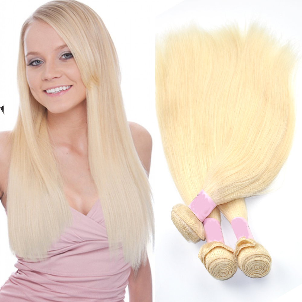 New Coming Fashionable Honey Blonde Malaysian Hair Weave
