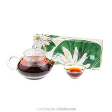 Nice taste slimming Lotus Leaf Blended pu erh tea for weight loss