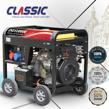 CLASSIC CHINA 7kw Best Generator To Run A House, Factory Price Portable Generator With Wheels, 7500 Watt Generator