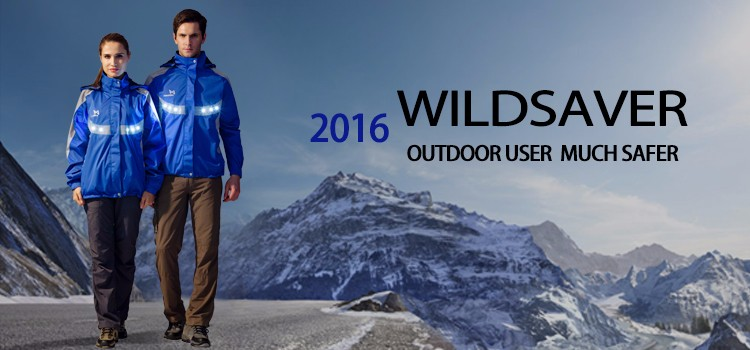 2016 New Arrival Outdoor Sports LED light ski jacket