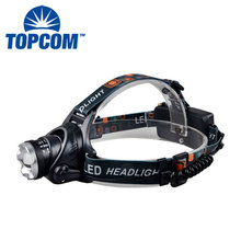 High Power Xml T6 LED Rechargeable Head Light Custom Elastic Bands For Headlamp