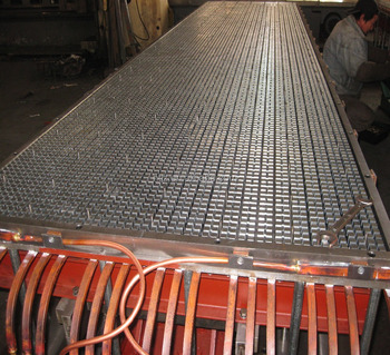 FRP sheet making machine,mold,grating mold maker