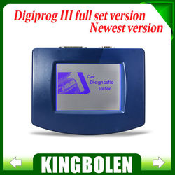 DHL Free Digiprog 3 Odometer Programmer Full Software V4.88 Digiprog III Mileage Correction Tool For Multi-Brand Cars & Language