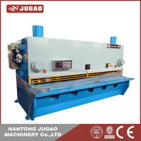 cnc steel stainless plate sheet cut guillotine shearing machinery metal hydraulic shear metal shear machine qc11y/12y