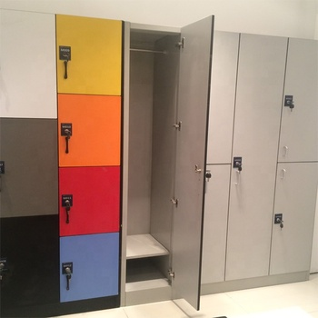 Debo hpl locker with metal frame Cheap Gym Locker