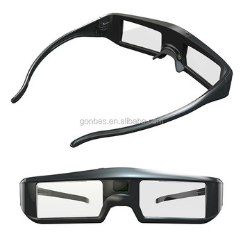 2017 new Rechargeable Battery Active Shutter 3D Glasses for epson 5810 projector