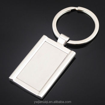 blank metal costom key chain