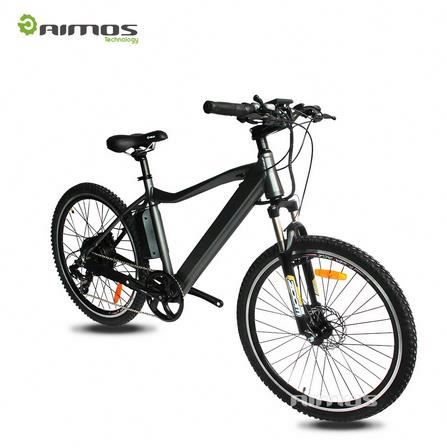 26 Inch Folding Power 48V 500W Lithium Battery Electric Off-Road Mountain Bike