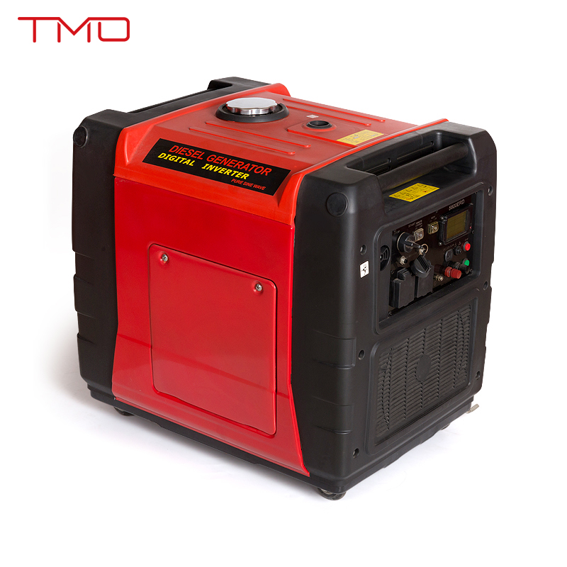 5000 Watts Silent Inverter Gasoline Generator with EPA, Carb, CE, Soncap Certificate
