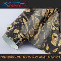 1.52*30m Vinyl Roll for Car Body Decoration and Protection with Air Bubble Snake Skin for Car