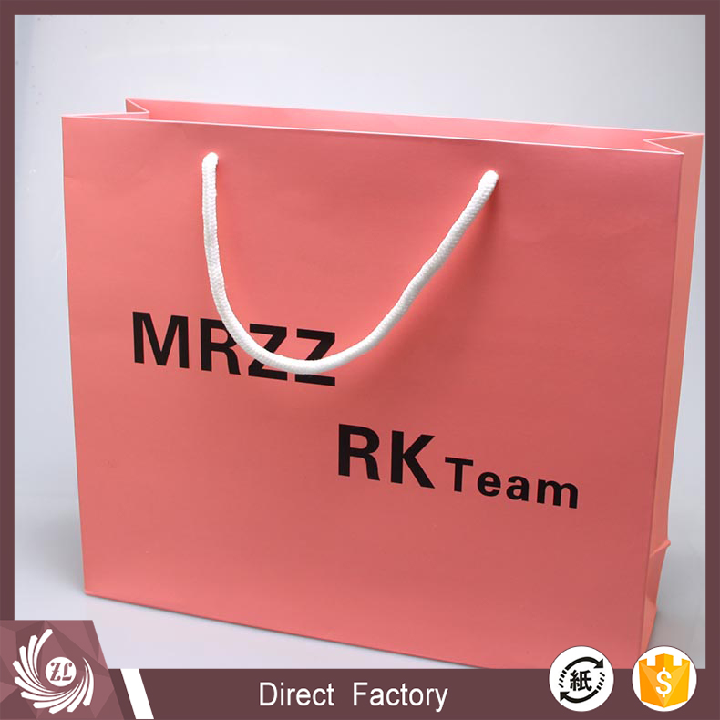 Custom printed luxury cheap printing paper bag/gift bag/shoe bag high quality for clothes with logo print