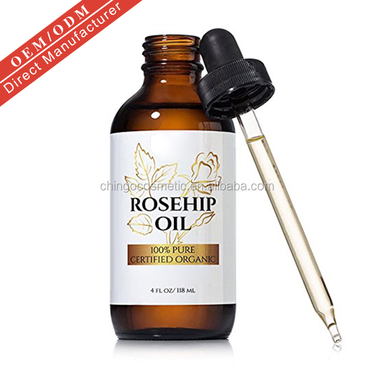Aromatherapy Private Label Chile Natural Cold Pressed Essential Oil Organic Rosehip Oil