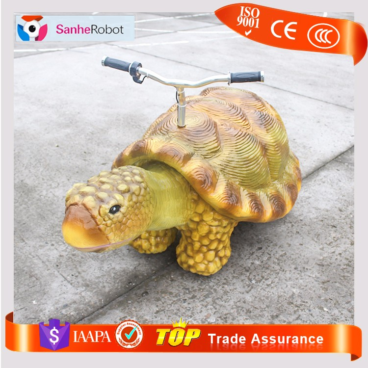 SH-S053 Amusement park coin operated sea turtle ride