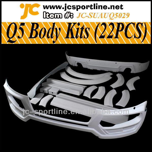 High Quality PP Material Q5 Body Kit For Audi Q5