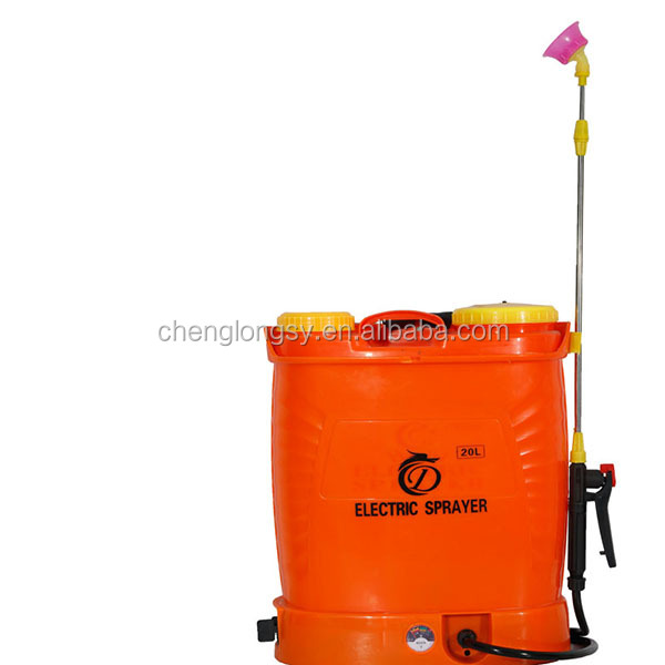 Agriculture Knapsack portable Battery Electric Power manual operated pump hand sprayer
