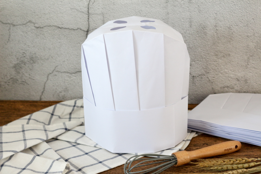 High quality disposable paper chef hat customer best choice 2019