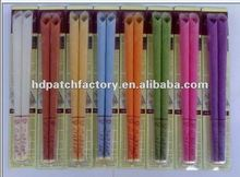 2012 Hot sale aroma colorful ear candle