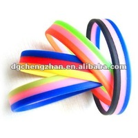 cheap silicon bracelet college for promotional