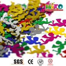 2015 Artificial angel Shape PVC Confetti For Christmas Party