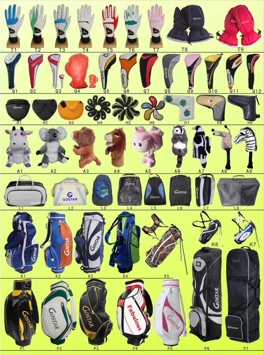 Hot Sales Nylon Stand Bag for Golf