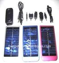 Solar Power Universal Mobile Phone Charger With 2000mAh