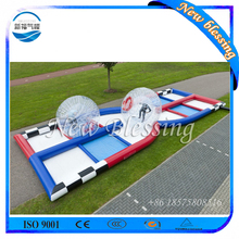 Adult Challenging Racing Games Inflatable Bubble Ball Race