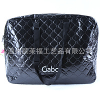 Hot sale embossed nonwoven laminated travel zipper bag