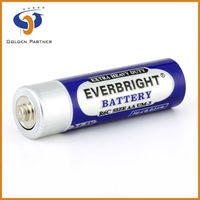 All zinc carbon dry cell R6 heavy duty battery AA batteries