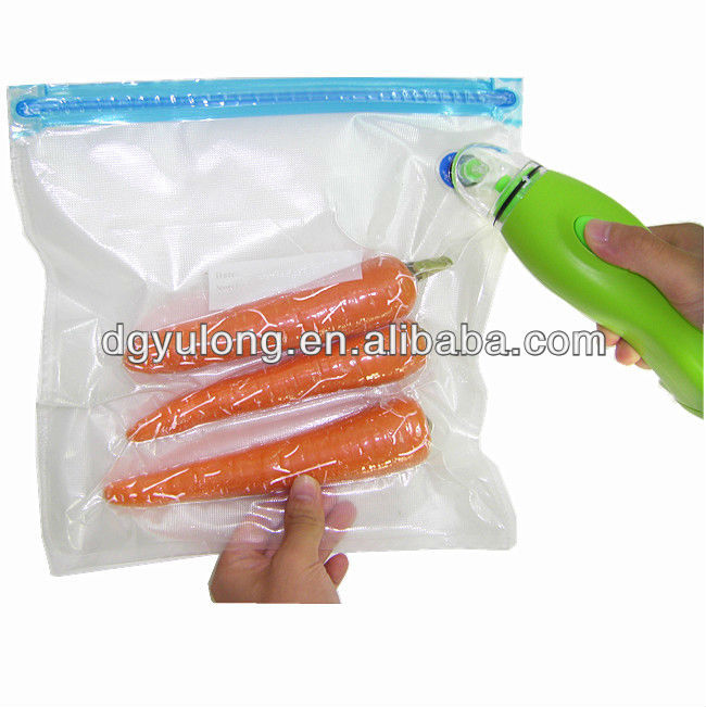 YL-271 top quality for keeping food fresh vaccum storage bag
