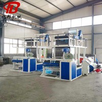 Hot selling air cooling up blown flat film and tape extrusion machine with high quality