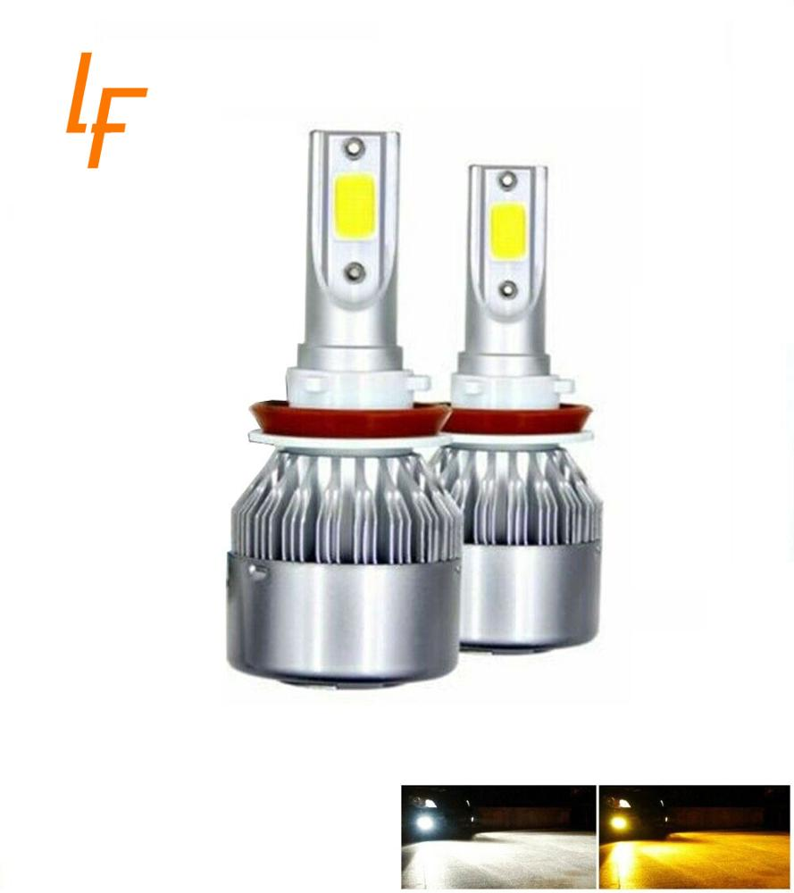 high power dual color 12000 lumens <strong>led</strong> bulbs 9005 <strong>car</strong> h4 h13 <strong>led</strong> headlight bulbs