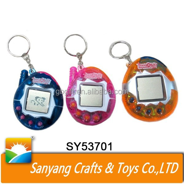 Kids novelty game tamagotchi mini electric pet toy game