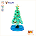 DIY children toy, christmas educational kids toys, magic crystal growing paper for christmas decoration