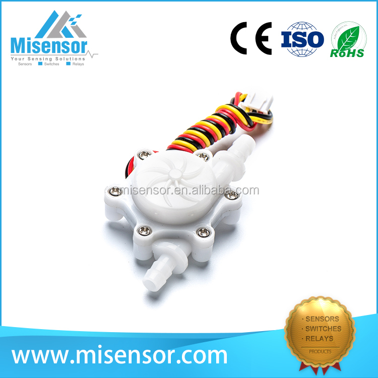 Misensor water flow rate sensor