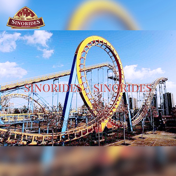 Amusement Park Rides Big Roller Coaster For Sale