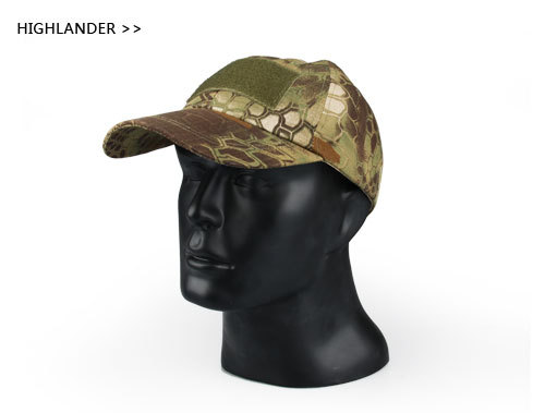 Multi functional Military Low Profile Adjustable Tactical Operator Cap Baseball Caps