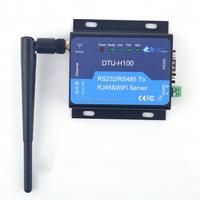 Serial Wifi Converter RS232 RS485 to Wireless 802.11b/g/n Server Support STA/AP/AP+STA Work Mode WIFI serial server DTU-H100