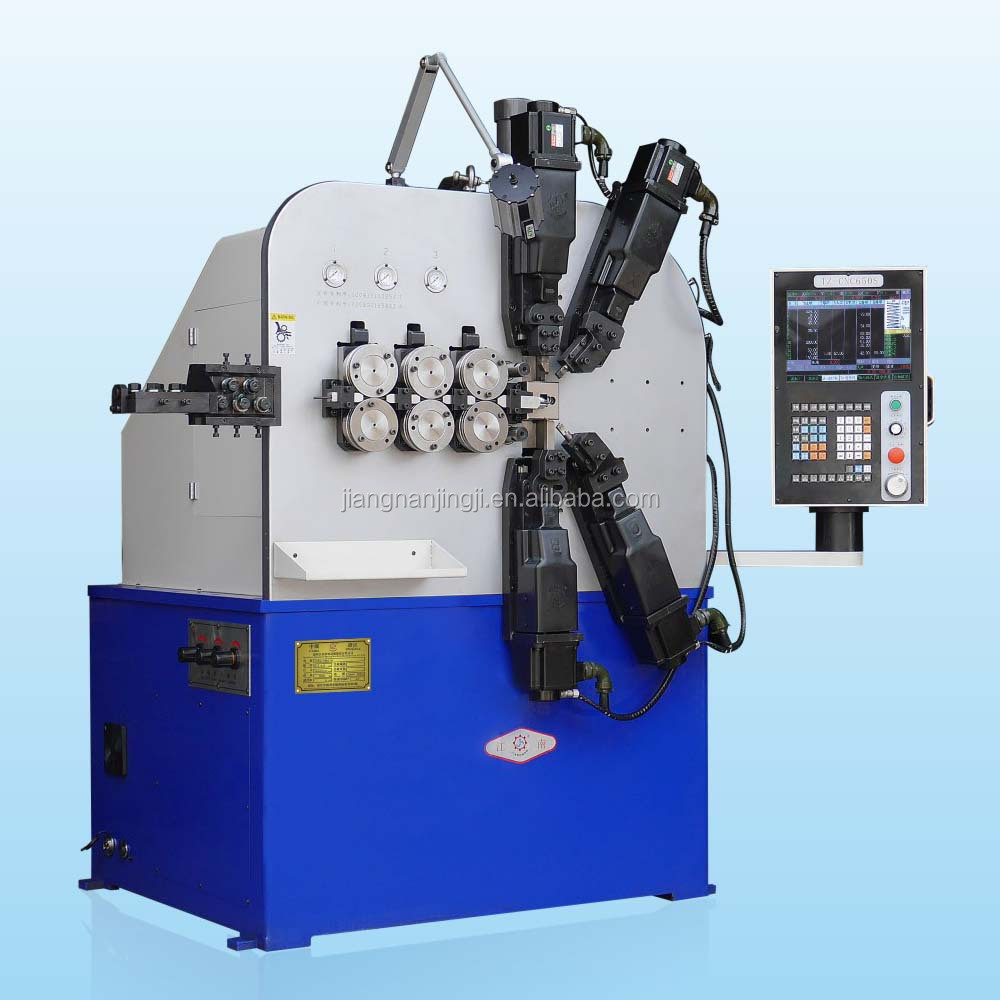 CNC-YH660 Automatic High Efficiency Compresson Tension Spring Coil Machine For Making Various Springs