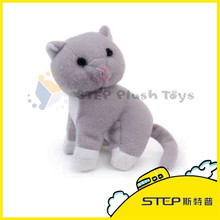 Customized Stuffed Animal 2016 Promotion Gift Pretty Plush Cat Toy