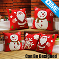Red And White Decorative Linen Wholesale Cushions Cover