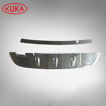 ABS Front + Rear Bumper Protector Guard Skid Plate Fit For Jeep Compass 2017