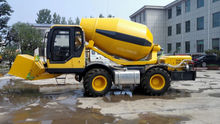Skip Self Loading Mobile Concrete Mixer