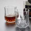 200ml machine made diamond whisky glass cup