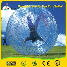 China manufacture competitive price inflatable land zorb ball /land zorbing ball /grassplot ball