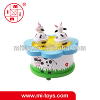 Wooden musical box design toys for baby