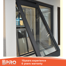Modern hot design australian standard double glazed Cheap Small aluminum glass top hung window awning windows philippines