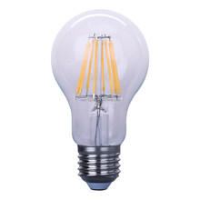 New product alibaba china Clear / Frosted / Milky White glass cover b22 8w globe led filament bulb