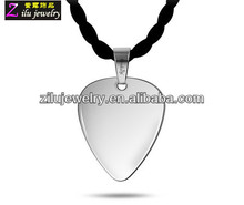High Quality Heart Shape Stainless Steel Pendant Blank