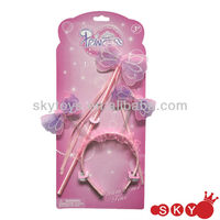 Fashion princess hair accessory set for kids hair accessory