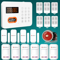 120 Zones PSTN Wireless Voice DIY Home safe house alarm system Auto Dialer